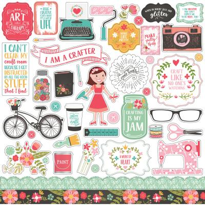 Echo Park - I Heart Crafting - Stickerbogen