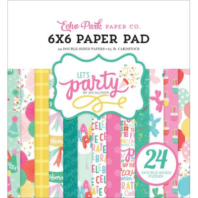 Echo Park Let's Party  - Paper Pad