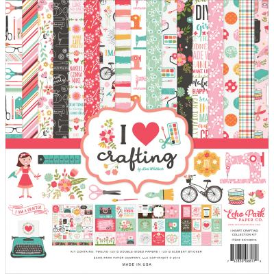 Echo Park -  I Heart Crafting Collection Kit