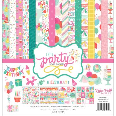 Echo Park - Let's Party Collection Kit