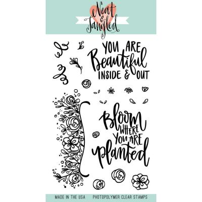 Neat & Tangled Stempel - Bloom
