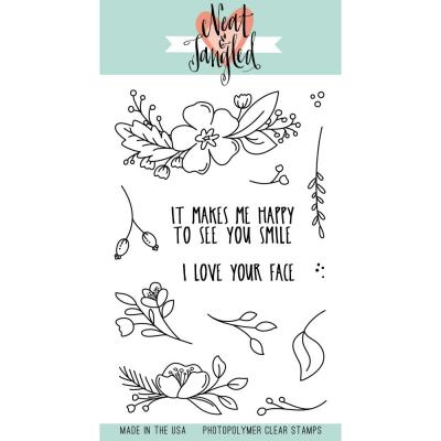 Neat & Tangled Stempel - Friendly Florals