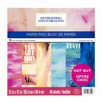 Craft Smith Paper Pad - Bold Brushstrokes