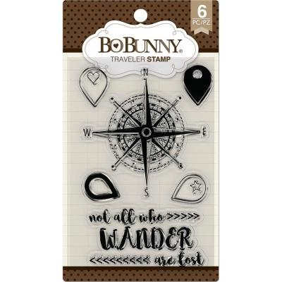 BoBunny Clear Stamps - Traveler