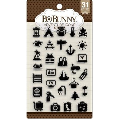 BoBunny Clear Stamps - Adventure