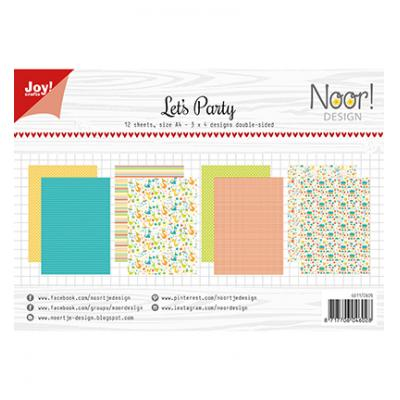 JoyCrafts Designpapier - Design Let
