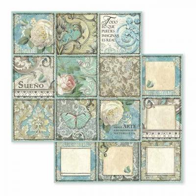 Stamperia Tile Designpapier - Dream
