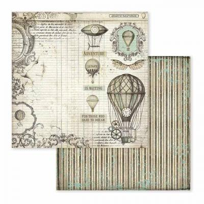 Stamperia Voyages Fantastiques - Air Balloon