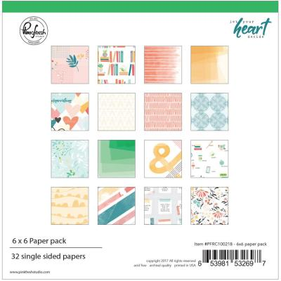 Pinkfresh Studio Paper Pack - Let Your Heart