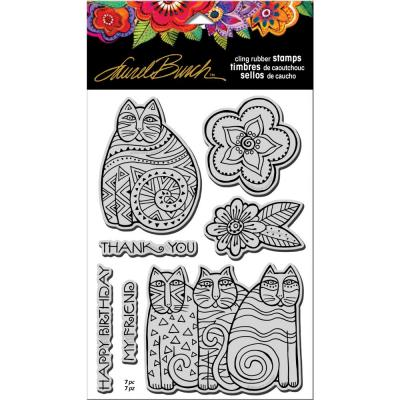 may Flowers Stampendous Cling Stamp