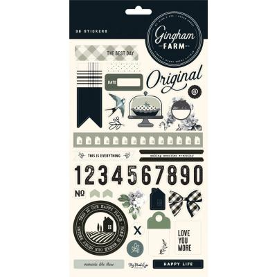 My Mind's Eye - Gingham Farm Stickers