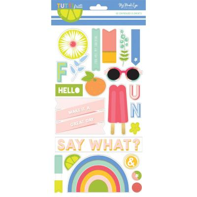 My Minds Eye - Tutti Frutti Chipboard Elements