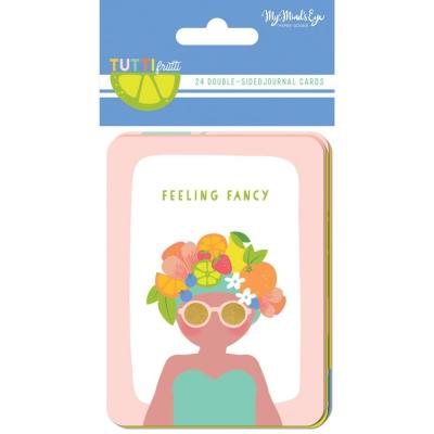 My Mind's Eye - Tutti Frutti Double-Sided Journal Cards