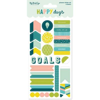 My Mind's Eye - Happy Days Planner Sticker