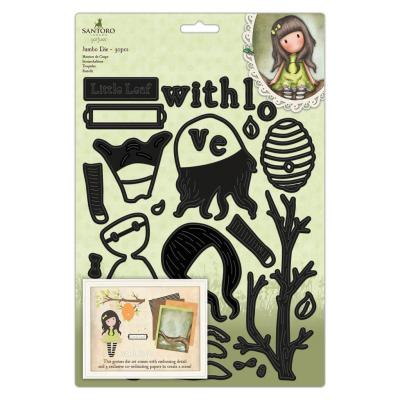 Santoro - Gorjuss The Little Leaf Jumbo Die Set