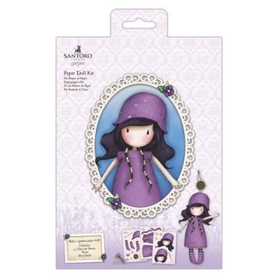 Santoro Paper Doll Kit - Rainy Daze