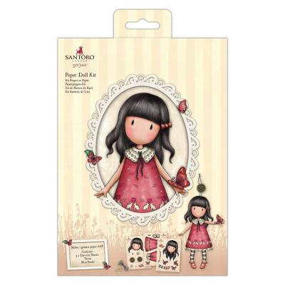 Santoro Paper Doll Kit - Time To Fly