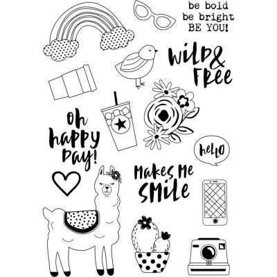 Simple Stories Clearstamps - Oh Happy Day