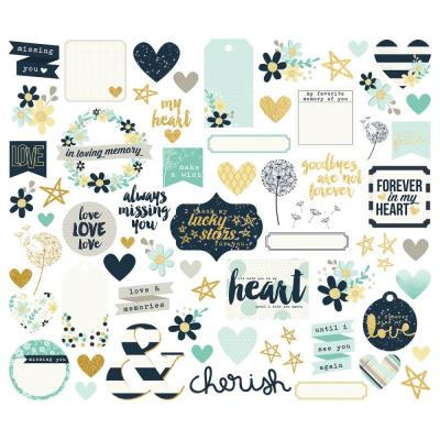 Simple Stories Heart - Die-Cuts