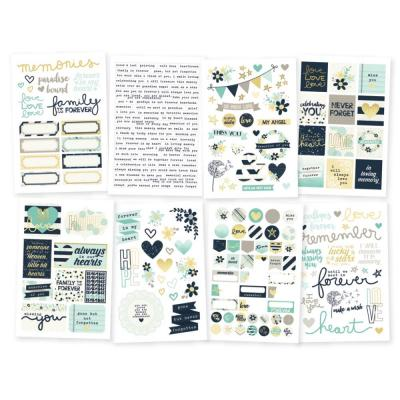 Simple Stories Heart - Stickers