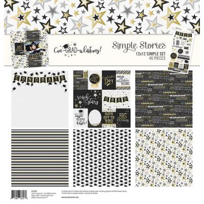 Simple Stories Con-GRAD-ulations - Collection Kit