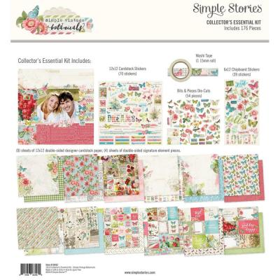 Simple Stories Vintage Botanicals - Collector's Essential Kit Simple