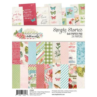 Simple Stories Vintage Botanicals - Paper Pad
