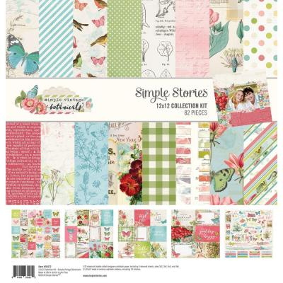 Simple Stories Vintage Botanicals - Collection Kit