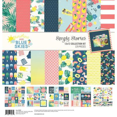 Simple Stories Sunshine & Blue Skies - Collection Kit