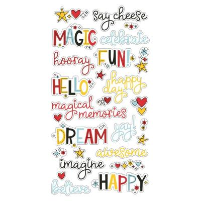 Simple Stories Stickers - Say Cheese 4