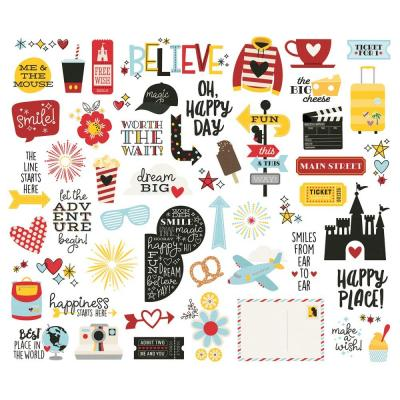 Simple Stories Say Cheese 4 - Bits & Pieces Die-Cuts