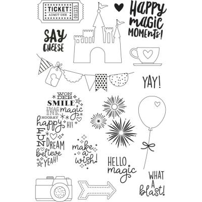 Simple Stories Clear Stamps Say Cheese 4 - Magic