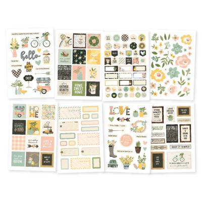 Simple Stories Spring Farmhouse - Sticker