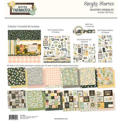 Simple Stories Spring Farmhouse - Collector's Essential Kit