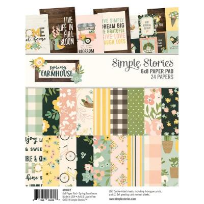 Simple Stories Spring Farmhouse - Paper Pad