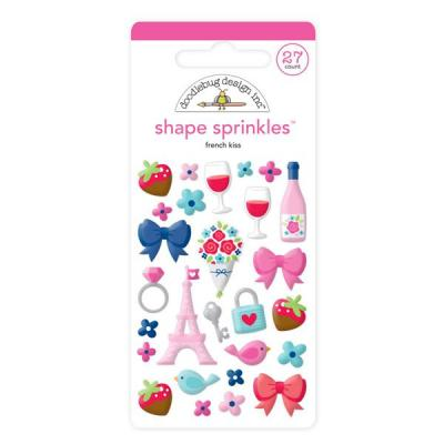 Doodlebug French Kiss - Shape Sprinkles
