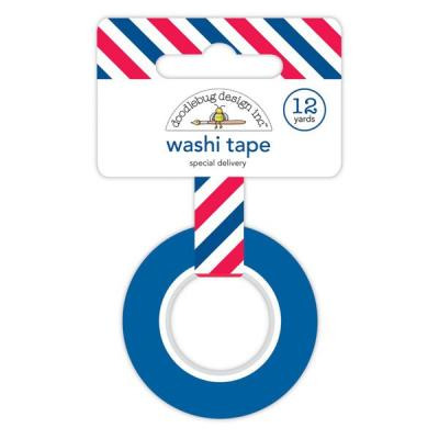 Doodlebug French Kiss - Special Delivery Shape Washi