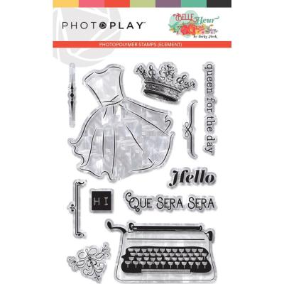 PhotoPlay Clear Stamps Belle Fleur - Element