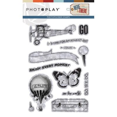 PhotoPlay Clear Stamps - Here & There