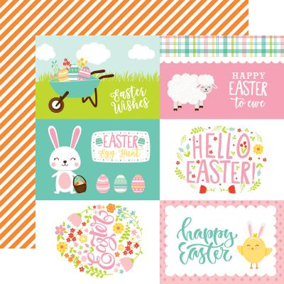 Echo Park Easter Wishes - 4x6 Journaling Cards