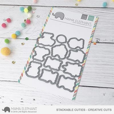 Mama Elephant Creative Cuts Stackable Cuties
