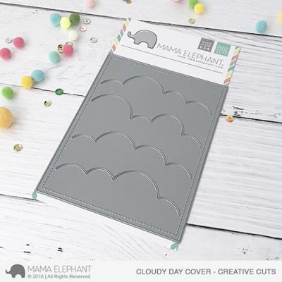 Mama Elephant Creative Cuts Cloudy Day Cover