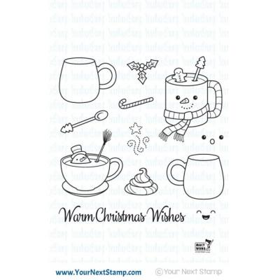 Your Next Stamp - Warm Christmas Wishes