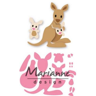 Marianne Design Collectable - Känguru und Baby