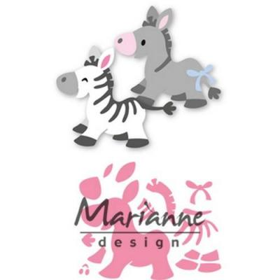 Marianne Design Collectable - Zebra und Esel