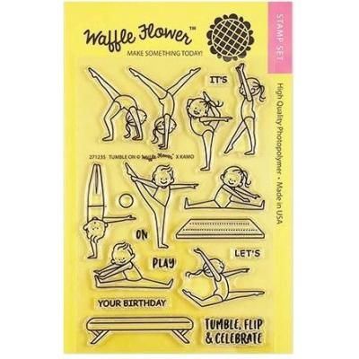 Waffle Flower Crafts Clearstamps - Tumble On