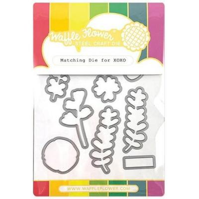 Waffle Flower Crafts Outline-Stanzschablone - XOXO