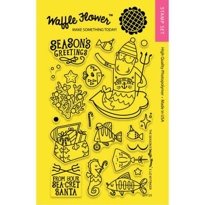 Waffle Flower Crafts Clearstamps - The SEAson
