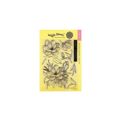 Waffle Flower Crafts Clear Stamps - Magnolia