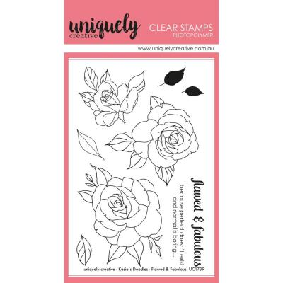 Uniquely Creative Clearstamps - Flawed & Fabulous